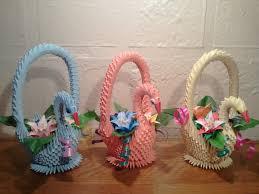 3d Origami Flower Vase Tutorial Tutorial How To Make 3d Origami Swan Basket