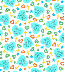 Joann Fabric Snuggle Flannel Fabric Jesus Loves Me Heart Teal Joann