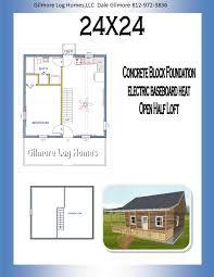 gilmore log homes floor plans