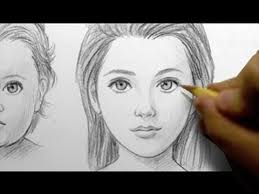 how to draw babies teens u0026 adults female youtube