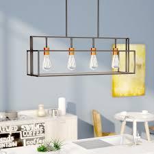 pendant light fixtures for kitchen island kitchen island lighting you ll wayfair