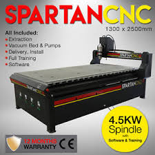 Used Woodworking Cnc Machines Sale Uk by Cnc Router Machine Spartan 1325 Router 4 5kw 1300mm X 2500mm