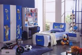 decoration minimalist modern kids study room with white brick wall