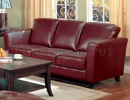 Burgundy Leather Sofa Ideas Design Fancy Burgundy Leather 55 About Remodel Living Room Sofa