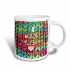 7 year wedding anniversary gift 3drose 7th wedding anniversary gift wool celebrating 7 years
