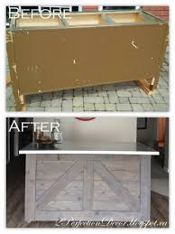 custom made kitchen cabinets scarborough remodelaholic ikea hack rustic bar with galvanized metal