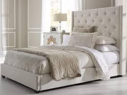 Upholstered Bed Frame Full Bed Bed Frame Tufted Sleigh Frames Gray Tjw Diy Queen King