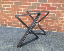 Folding Metal Table Legs Metal Furniture Accents By Blueridgemetalworks On Etsy