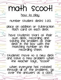 math facts practice scoot by once upon a learning adventure - Math Facts