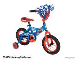 spiderman thanksgiving marvel huffy boys 12 inch amazing spider man bicycle walmart