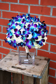 blue dendrobium orchids wedding flowers abbotsford buckets fresh flower market florist