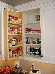 wall spice cabinet with doors behind door spice rack rainbowmansion org