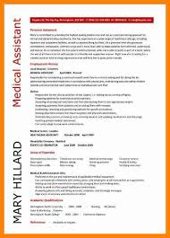 Resume Template For Office Assistant Medical Assistant Resume Template Free Resume Template And