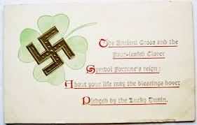 photo postcards postcardiva postcard swastika luck antique postcards
