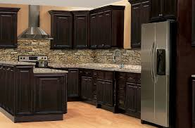 Solid Wood Shaker Kitchen Cabinets by Rittenhouse Raised Panel U2013 Dark Chocolate U2013 Solid Wood Cabinets