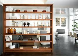 large bookcase room divider ways to divide a studio apartment into