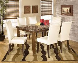 Brown Dining Room Amazon Com Ashley Furniture Signature Design Charrell Dining
