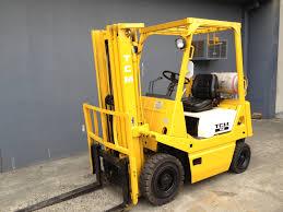tcm 1 5 tonne lpg used forklift