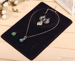 color necklace display images 2018 jewelry set display cards earring necklace ring pendant jpg