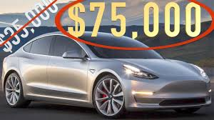 tesla model 3 tesla model 3 options u0026 pricing youtube