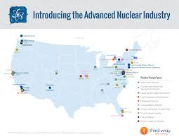 Argonne National Laboratory Map The Advanced Nuclear Industry Third Way
