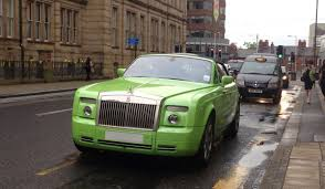 drophead rolls royce lime green rolls royce phantom drophead or not