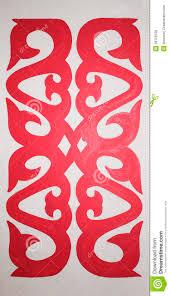 kazakh ornament 1 royalty vrije stock afbeelding afbeelding