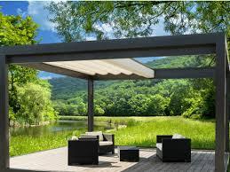 gazebo patio ideas sliding awning melano by stobag italia garden pinterest