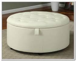 round white tufted ottoman at ikea with storage ottoman coffee