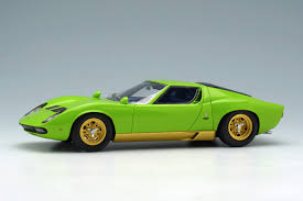 lime green aston martin make up eidolon em319c lamborghini miura p400 sv lime green