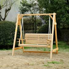 Wrought Iron Garden Swing by Decorating Exciting Wooden Porch Swings Design With Creative For