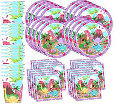 birthday party supplies pink dino girl dinosaur birthday party supplies