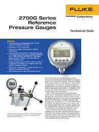 2700g series reference pressure gauges pdf calibration