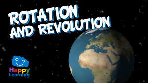 rotation and revolution of earth educational video for kids