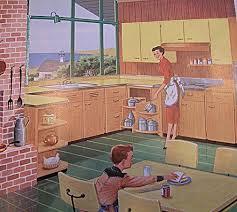 Retro Cabinets Kitchen by 1365 Best Vintage Kitchens Images On Pinterest Vintage Kitchen