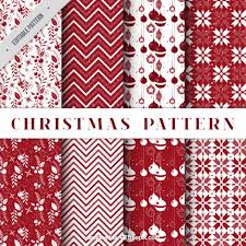 christmas patterns pack of decorative christmas patterns in color vector free
