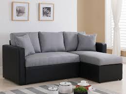 canapé d angle noir et gris canapé d angle tissu réversible vigo avec coffre gris et noir 68229