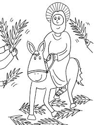 78 coloring pages for palm sunday palm sunday coloring