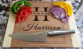 cutting board personalized personalized cutting boards american laser crafts groupon