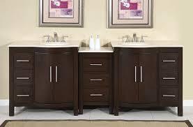 89 inch modern bathroom vanity uvsr0912lmr89
