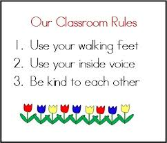 printable instructions classroom setting rules in the preschool classroom teach preschool