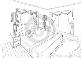 croquis chambre a coucher beautiful dessin chambre 3d photos design trends 2017 shopmakers us