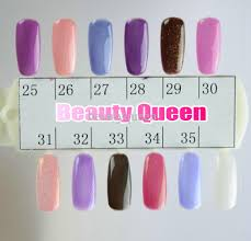changing gel color chameleon nail gel polish soak off uv led gel
