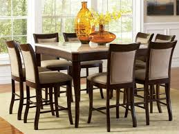 Bar Height Dining Room Table Sets Dining Room Extraordinary 9 Piece Round Dining Table Dinette