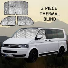 volkswagen kuwait volkswagen vw t5 internal thermal blinds interior blind kit 3