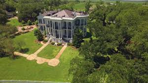 nottoway plantation stock footage video along river road stock