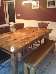 james and james tables james james 6 farmhouse table in vintage early american stain
