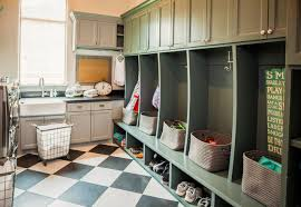 Laundry Room Cart - rolling laundry cart laundry room rustic with checker floor