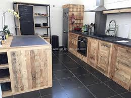 kitchen wooden furniture wood pallet powered kitchen wood pallet furniture
