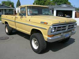 ford f250 1972 1972 f250 highboy custome yellow